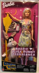 Barbie Loves Bugs Bunny Pernalonga 12 inch doll