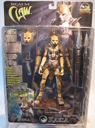 Stan Winston Creatures Realm of the Claw - Kaela 8 inch Stan Winston Creatures, Realm of the Claw, Action Figures, 2001, fantasy