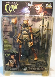 Stan Winston Creatures Realm of the Claw - Zynda 8 inch Stan Winston Creatures, Realm of the Claw, Action Figures, 2001, fantasy