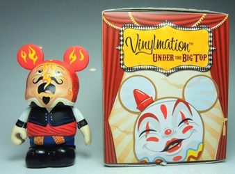 Vinylmation Under The Big Top 3 inch Figure - Fire Eater Disney, Vinylmation, Action Figures, 2012, kidfare, art
