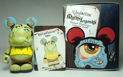 Vinylmation Myths and Legends 3 inch Figure - Ogre Disney, Vinylmation, Action Figures, 2013, kidfare, art