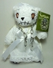 Teddy Scares 8 inch plush Annabelle Wraithia Applehead Factory, Teddy Scares, Plush, 2011, horror, halloween, counterculture