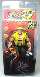 NECA Street Fighter IV - Guile (SDCC 2009 Excl) 7 inch NECA, Street Fighter, Action Figures, 2009, warriors, video game
