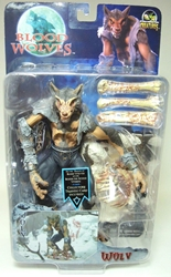 Stan Winston Creatures Blood Wolves - Wulv 7 inch figure Stan Winston Creatures, Blood Wolves, Action Figures, 2003, fantasy