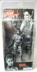 NECA Sin City Ser 1 Sexy Gail BW (Rosario Dawson) NECA, Sin City, Action Figures, 2005, crime, comic book