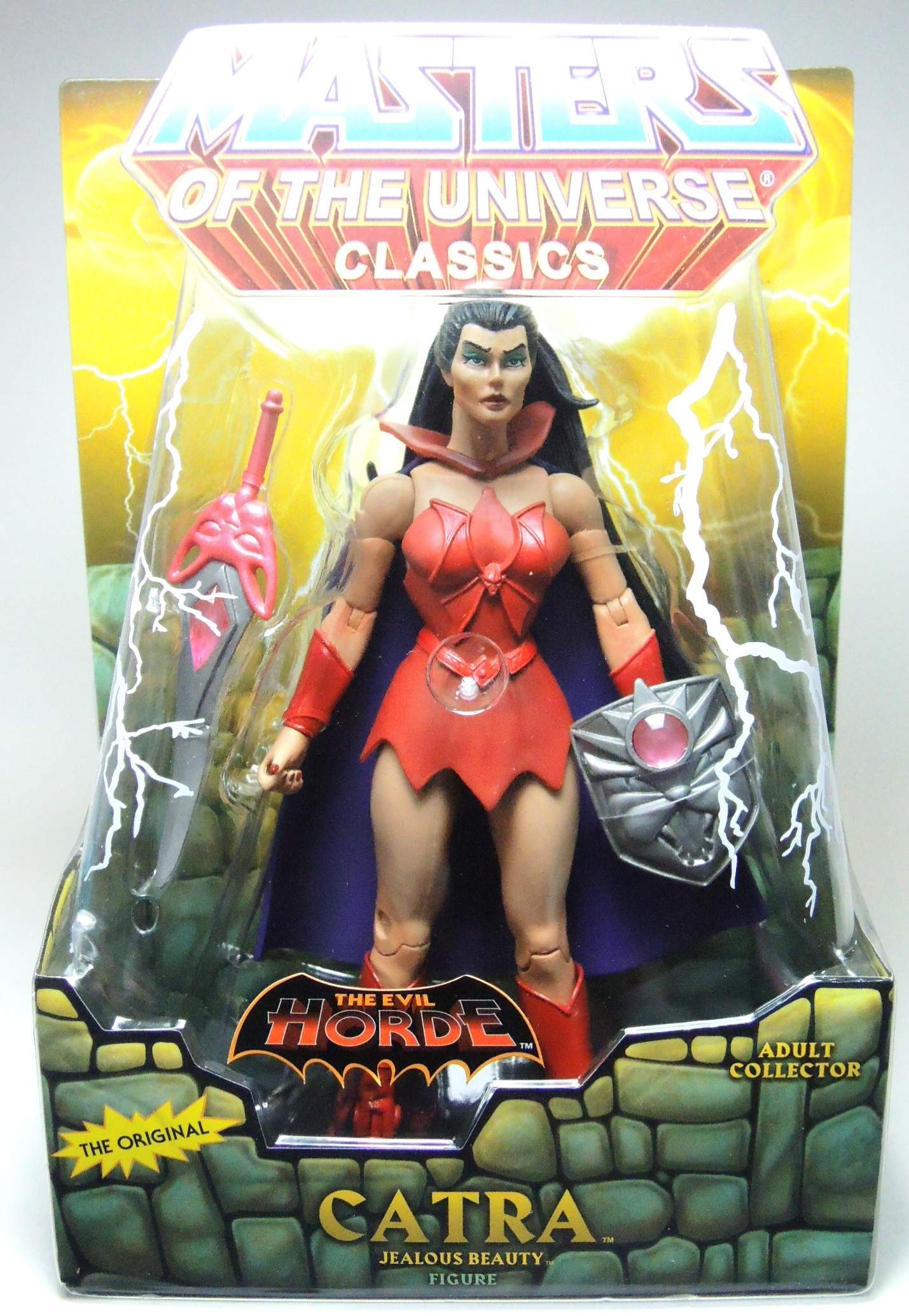 Masters of the Universe Classics - Catra from the Evil Horde Mattel, Masters of the Universe, Action Figures, 2010, fantasy, cartoon