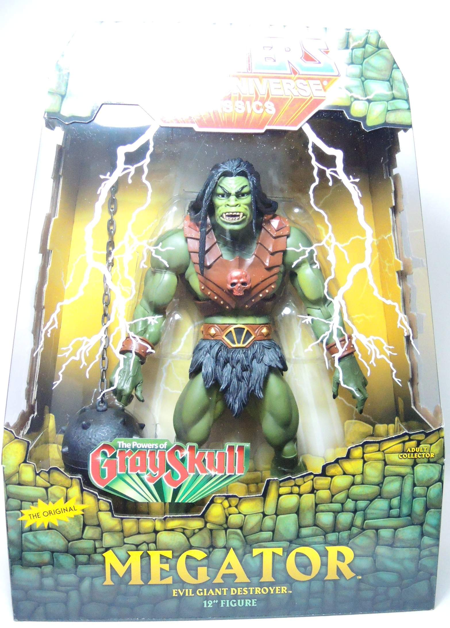 Masters of the Universe Classics - Megator Evil Giant Destroyer 12 inch Mattel, Masters of the Universe, Action Figures, 2011, fantasy, cartoon