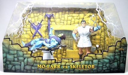 Masters of the Universe Classics - Mo-Larr vs Skeletor 2-pack Mattel, Masters of the Universe, Action Figures, 2009, fantasy, cartoon