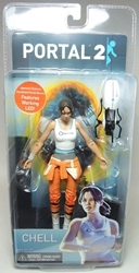 NECA Portal 2 Chell Figure with light-up Portal Device NECA, Portal 2, Action Figures, 2013, scifi, video game