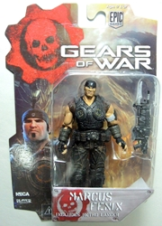 NECA Gears of War 3.75 inch Series 1 Figure - Marcus Fenix NECA, Gears of War, Action Figures, 2013, scifi, video game
