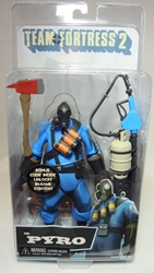 NECA Team Fortress 2 The Pyro (blue) 6.25 inch figure NECA, Team Fortress, Action Figures, 2013, scifi, video game