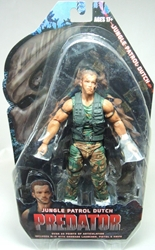 NECA Predators Series 8 Figure 7 inch Jungle Patrol Dutch NECA, Predators, Action Figures, 2013, scifi, movie