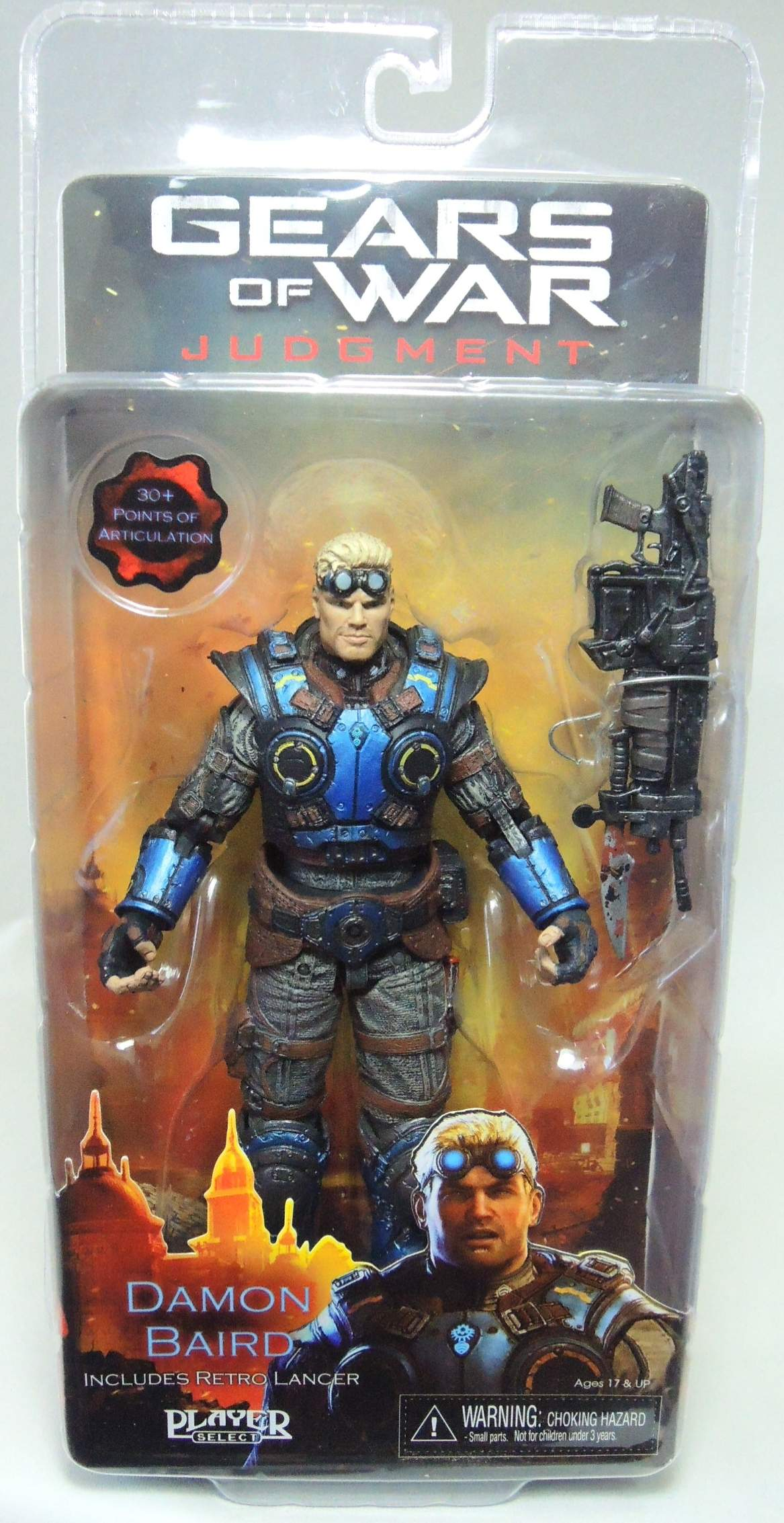 NECA Gears of War 7 inch Figure - Damon Baird