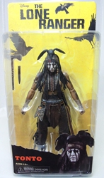 NECA The Lone Ranger 7 inch Figure - Tonto NECA, The Lone Ranger, Action Figures, 2013, western, movie