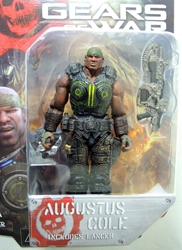 NECA Gears of War 3.75 inch Series 2 Figure - Augustus Cole NECA, Gears of War, Action Figures, 2013, scifi, video game