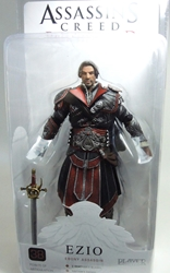 NECA Assassins Creed Brotherhood Figure - Ezio Ebony Assassin (unhooded)