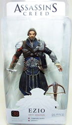 NECA Assassins Creed Brotherhood Figure - Ezio Onyx Assassin (unhooded)