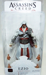 NECA Assassins Creed Brotherhood Figure - Ezio Legendary Assassin (hooded & ivory) ?