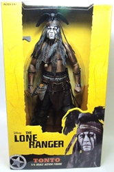 NECA The Lone Ranger 1/4 scale Figure - Tonto NECA, The Lone Ranger, Action Figures, 2013, western, movie