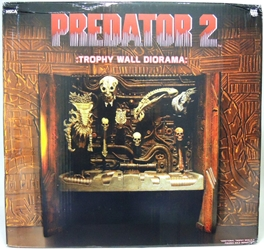 NECA Predator 2 Trophy Wall Diorama NECA, Predators, Action Figures, 2013, scifi, movie