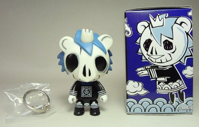 Toy2R 3.3 inch Qee - Skull Leo Toy2R, Qee, Action Figures, 2009, collectible