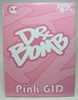 Toy2R 8 inch Dr Bomb Pink GID (glow-in-the-dark) Elephant by Kozik Toy2R, Kozik, Action Figures, 2008, celebrity