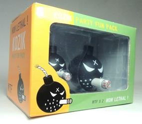 Toy2R Kozik Party Fun Pack with 2 smoking Anarchist Bombs! Toy2R, Kozik, Action Figures, 2012, celebrity
