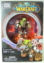 World of Warcraft 91003 RageRock 2 inch Orc Warrior figure Mega Bloks, World of Warcraft, Legos & Mega Bloks, 2012, fantasy, video game