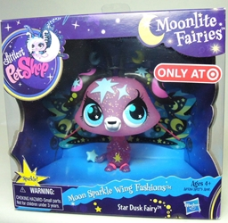 Littlest Pet Shop Moonlite Fairies - Star Dusk Fairy Hasbro, Littlest Pet Shop, Littlest Pet Shop, 2012, cute animals, online site