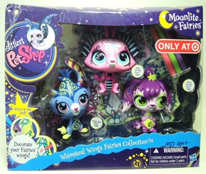Littlest Pet Shop Moonlite Fairies - Whimsical Wings Fairies collection (3-pack) Hasbro, Littlest Pet Shop, Littlest Pet Shop, 2012, cute animals, online site