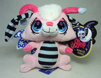 Littlest Pet Shop Moonlite Fairies - 7 inch plush pink fairy Hasbro, Littlest Pet Shop, Littlest Pet Shop, 2012, cute animals, online site