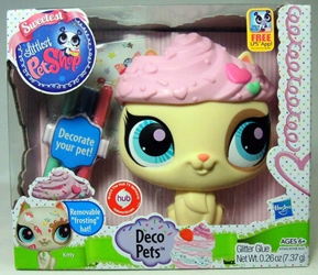 Littlest Pet Shop 6 inch Deco Pets - Kitty Hasbro, Littlest Pet Shop, Littlest Pet Shop, 2012, cute animals, online site