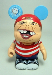 Vinylmation Zooper High School 3 inch Figure - Bully Disney, Vinylmation, Action Figures, 2012, kidfare, art