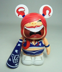 Vinylmation Zooper High School 3 inch Figure - Cheerleader Disney, Vinylmation, Action Figures, 2012, kidfare, art