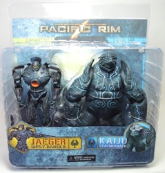 NECA Pacific Rim 7 inch 2-pack Gipsy Danger vs Leatherback NECA, Pacific Rim, Action Figures, 2013, scifi, movie
