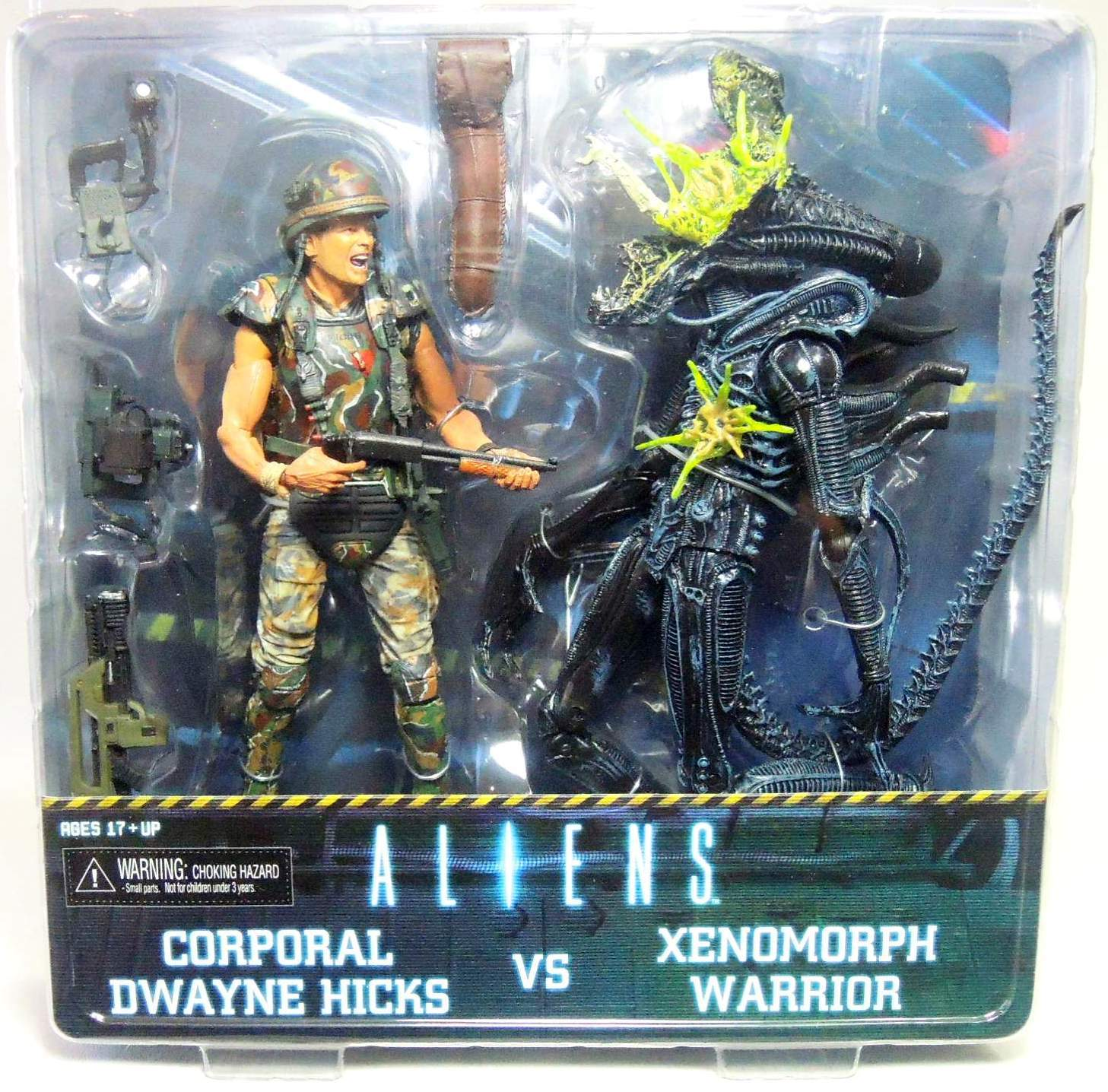 NECA Aliens 2-pack Corp Hicks vs Xenomorph Warrior NECA, Aliens, Action Figures, 2013, scifi, movie