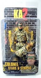 NECA KA2 Kick-Ass 2 Colonel Stars & Stripes 7 inch figure NECA, Kick-Ass, Action Figures, 2013, action, movie
