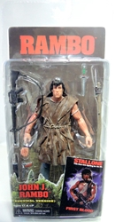 NECA Rambo 7 inch figure - John Rambo Survival Version NECA, Rambo, Action Figures, 2013, military, movie