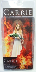 NECA Carrie 6.5 inch figure (white prom dress)