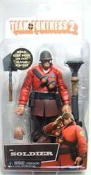 NECA Team Fortress 2 The Soldier (red) 7 inch figure NECA, Team Fortress, Action Figures, 2013, scifi, video game