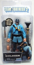 NECA Team Fortress 2 The Soldier BLU 7 inch figure NECA, Team Fortress, Action Figures, 2013, scifi, video game