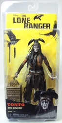 NECA The Lone Ranger 7 inch Tonto with Birdcage figure NECA, The Lone Ranger, Action Figures, 2013, western, movie