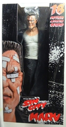 NECA Sin City 18 inch Color Marv NECA, Sin City, Action Figures, 2005, crime, comic book