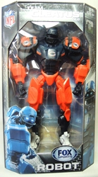 Fox Sports 11 inch v2 Robot - Chicago Bears Foam Fanatics, Fox Sports, Action Figures, 2013, sports, pro league