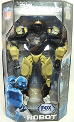 Fox Sports 11 inch v2 Robot - New Orleans Saints Foam Fanatics, Fox Sports, Action Figures, 2013, sports, pro league