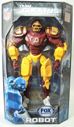 Fox Sports 11 inch v2 Robot - Washington Redskins Foam Fanatics, Fox Sports, Action Figures, 2013, sports, pro league