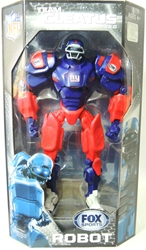 Fox Sports 11 inch v2 Robot - New York Giants Foam Fanatics, Fox Sports, Action Figures, 2013, sports, pro league