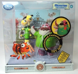 Disney Pixar Monsters University 5 inch figs Don & Terri & Terry Disney Pixar, Monsters University, Action Figures, 2013, kidfare, movie