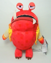 Disney Pixar Monsters University plush - Big Red 8 inch Disney Pixar, Monsters University, Plush, 2013, kidfare, movie