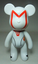 Popobe 5 inch Speed Racer Mach 5 Bear Popobe, Popobe Bear, Action Figures, 2010, vinyl